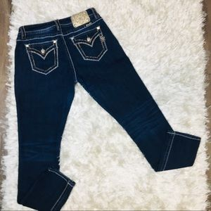 Miss Me Mid-Rise Easy Skinny Jeans 30